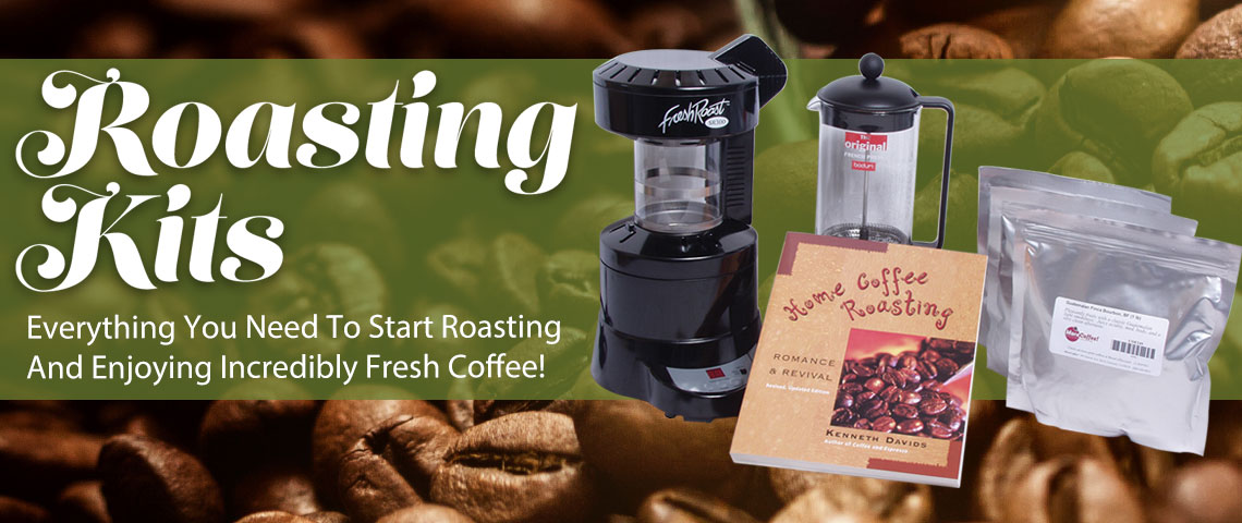 Coffee Roasting Kits!