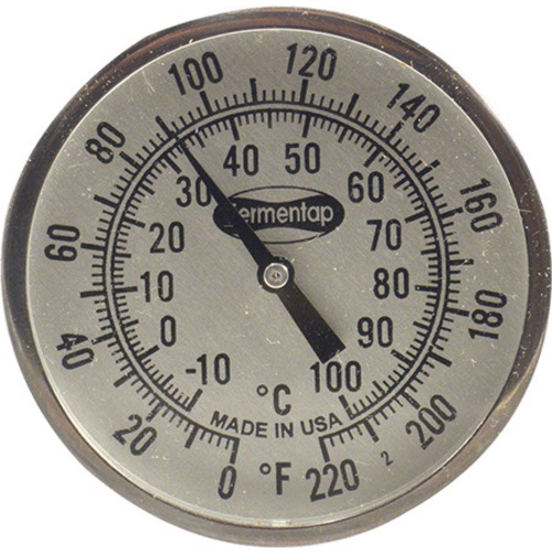 High Quality Thermometer - 2 in. x 12 in.
